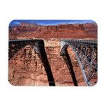 USA, Arizona, View of Navajo Bridge in Grand Rectangular Photo Magnet