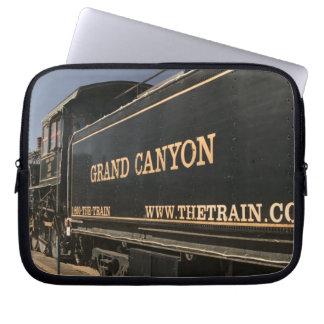 USA, Arizona, Williams: Grand Canyon Railroad Computer Sleeve