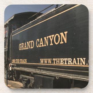 USA, Arizona, Williams: Grand Canyon Railroad Drink Coaster