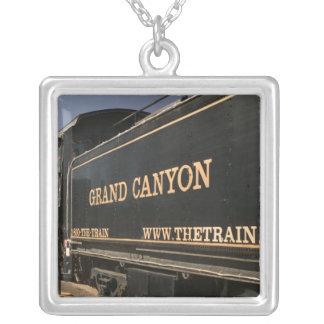USA, Arizona, Williams: Grand Canyon Railroad Silver Plated Necklace