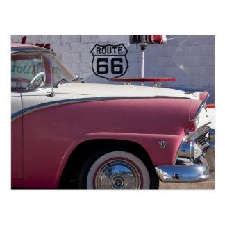 USA Arizona Williams Rt 66 Town 1950 s Post Card
