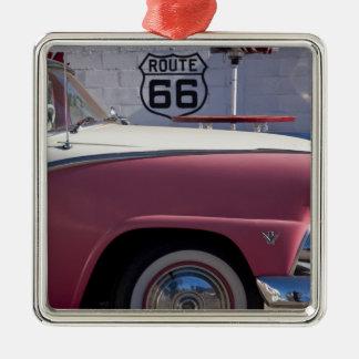 USA, Arizona, Williams. Rt. 66 Town, 1950's Metal Ornament
