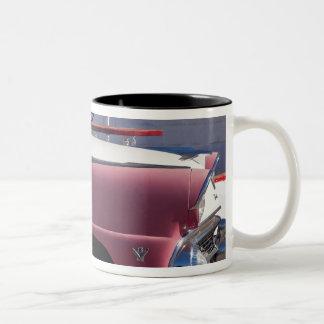 USA, Arizona, Williams. Rt. 66 Town, 1950's Two-Tone Coffee Mug