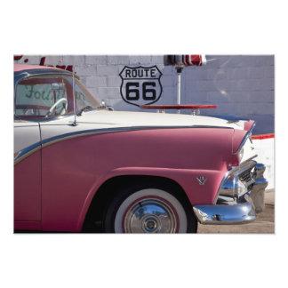 USA, Arizona, Williams. Rt. 66 Town, 1950's Photo Art
