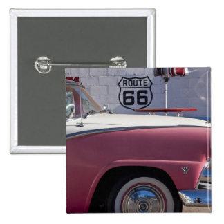 USA, Arizona, Williams. Rt. 66 Town, 1950's Pinback Button