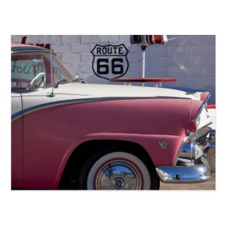 USA, Arizona, Williams. Rt. 66 Town, 1950's Postcard
