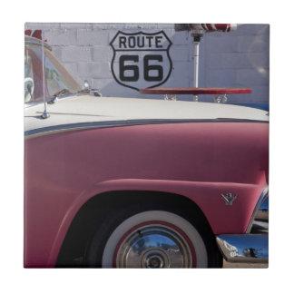USA, Arizona, Williams. Rt. 66 Town, 1950's Tile