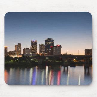 USA, Arkansas, Little Rock, City Skyline Mouse Pad
