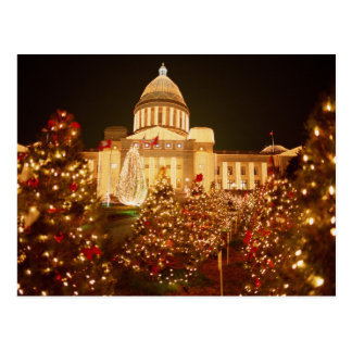 USA, Arkansas, Little Rock, State Capitol Postcard