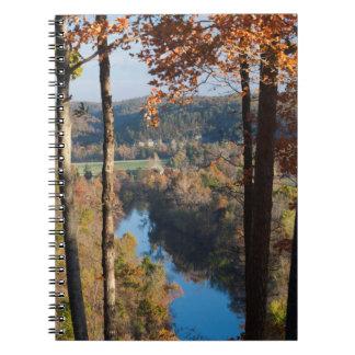 USA, Arkansas, War Eagle, Hobbs State Park Spiral Notebook