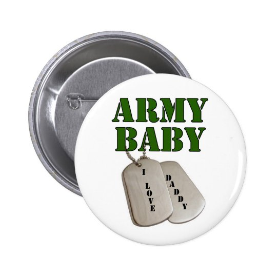 usa-army baby-dad pinback button