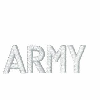 USA ARMY BASIC ZIP HOODIE-RedWhite&Blue