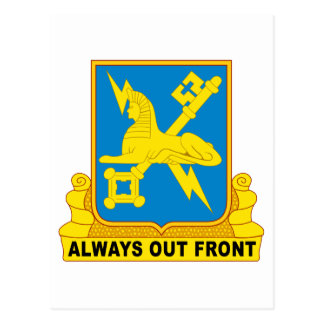 USA Army Military Intelligence Insignia Postcard