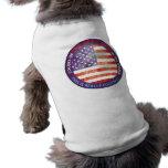 USA ART SHIELD T-SHIRTS DE MASCOTA