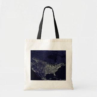 USA at Night Budget Tote Bag
