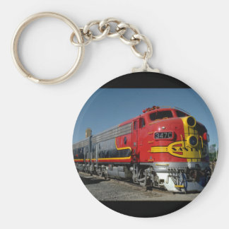 USA, AT & SF EMD F7A_Trains of the World Keychain