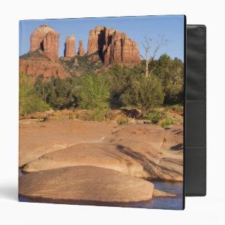USA, AZ, Cathedral Rocks at Red Rock Crossing 3 Ring Binder
