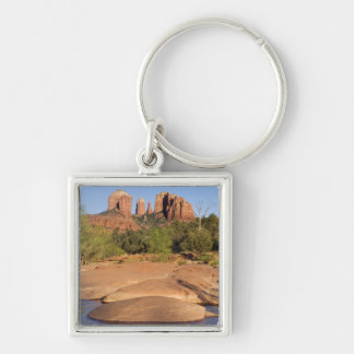 USA, AZ, Cathedral Rocks at Red Rock Crossing Keychain
