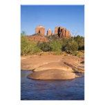 USA, AZ, Cathedral Rocks at Red Rock Crossing Photo Print