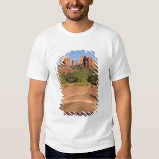USA, AZ, Cathedral Rocks at Red Rock Crossing T-Shirt