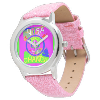 USA Baby pink change time latest campaign  slogan Watch