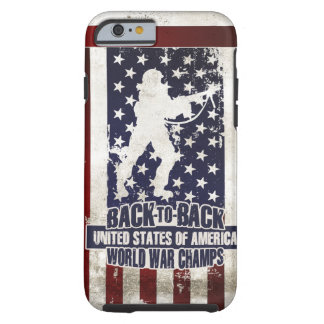USA- Back to Back World War Champs iPhone 6 Case