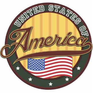 USA Badge Statuette