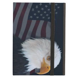 Usa bald eagle flag iPad air cover