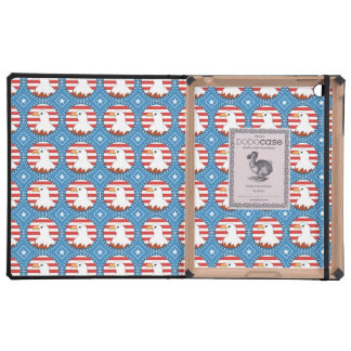 USA bald eagle pattern iPad Cases
