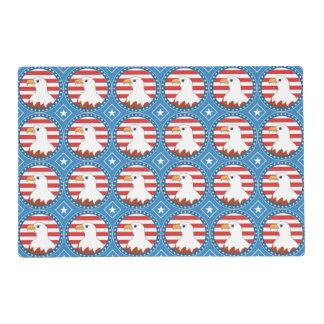 USA bald eagle pattern Placemat