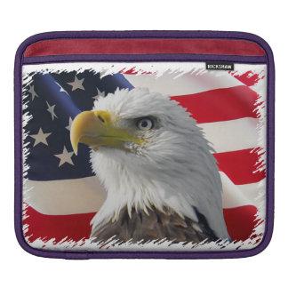 USA Bald Eagle Sleeve For iPads