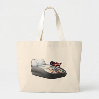 USA Bankrupt Large Tote Bag
