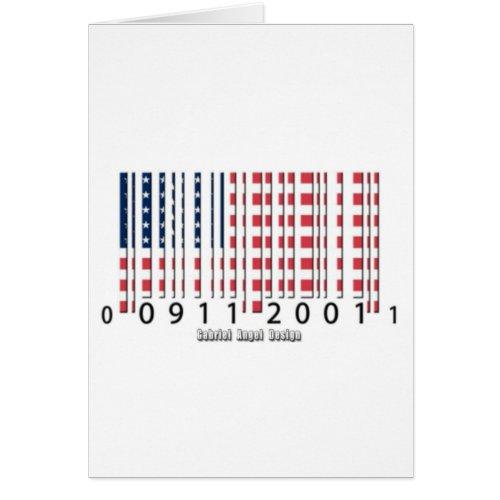 USA Barcode Flag