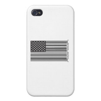 USA Barcode iPhone 4 Cases
