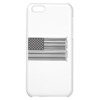 USA Barcode Cover For iPhone 5C