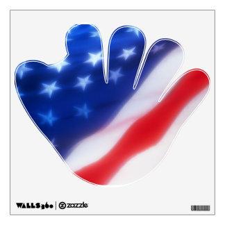 USA BASEBALL WALL DECAL