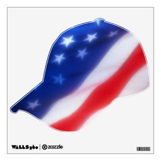 USA BASEBALL WALL STICKER
