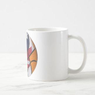USA Basket Ball Coffee Mug