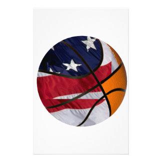 USA Basket Ball Stationery