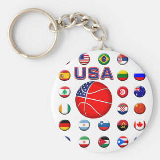 USA Basketball 2010 Keychain
