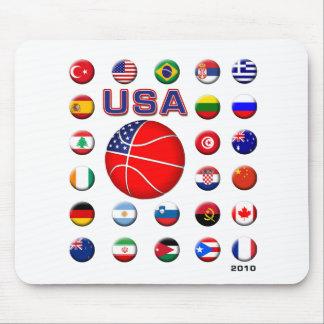 USA Basketball 2010 Mouse Pad