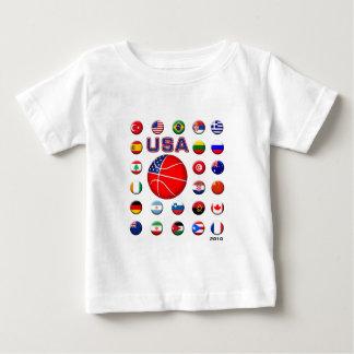 USA Basketball 2010 Infant T-shirt