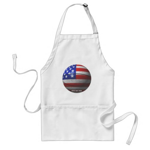 USA Basketball Adult Apron
