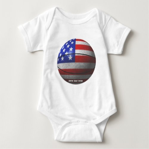 USA Basketball Baby Bodysuit