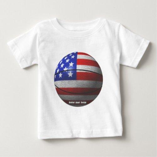 USA Basketball Baby T_Shirt