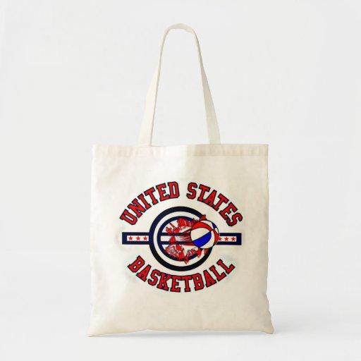 USA Basketball Budget Tote Bag