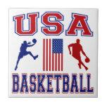USA Basketball Ceramic Tiles