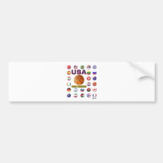 USA Basketball Champions 2010 Bumper Sticker