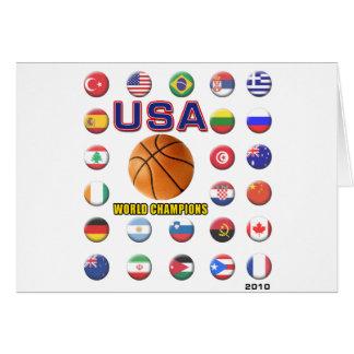 USA Basketball Champions 2010 Card