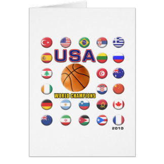 USA Basketball Champions 2010 Card